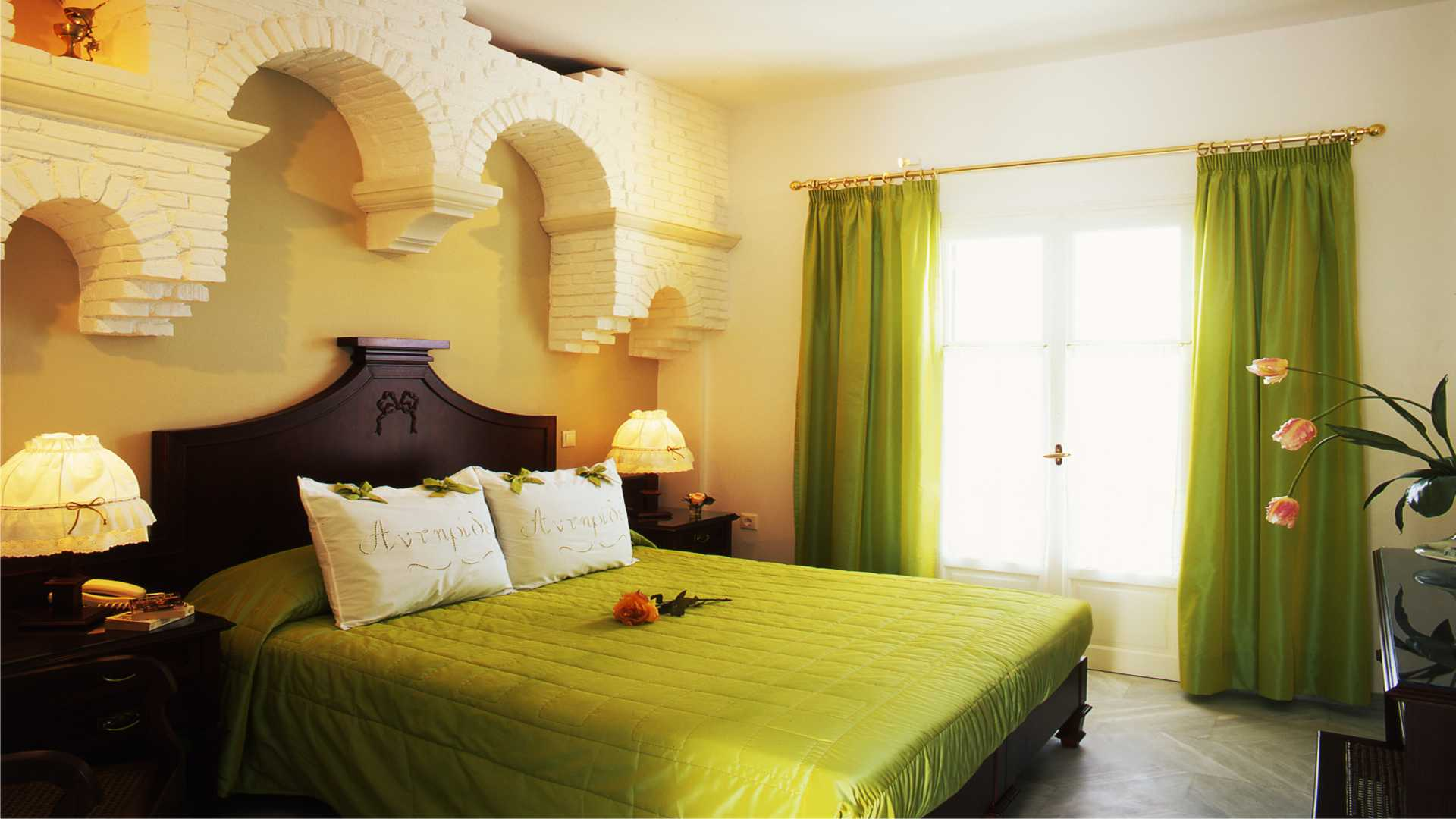 Antirides boutique hotel-paros island_Executive_Room_Green
